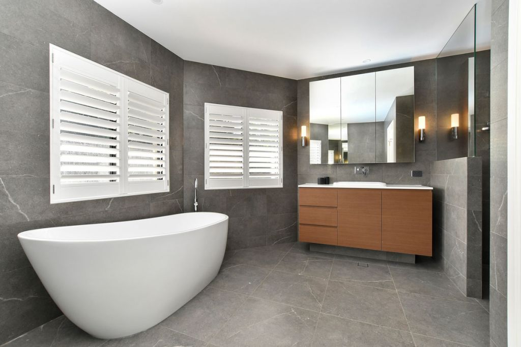 Look around for bathroom design inspiration