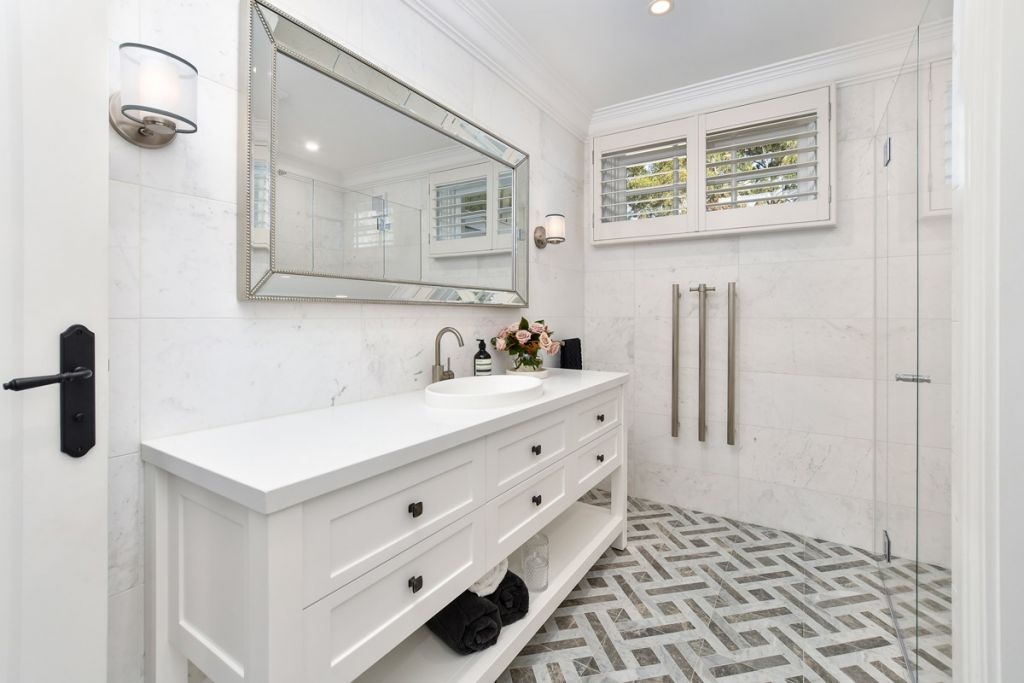 Heated flooring in your bathroom can provide luxurious comfort