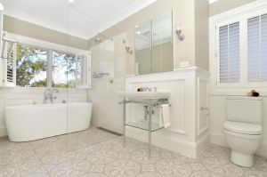 Functional bathroom layouts