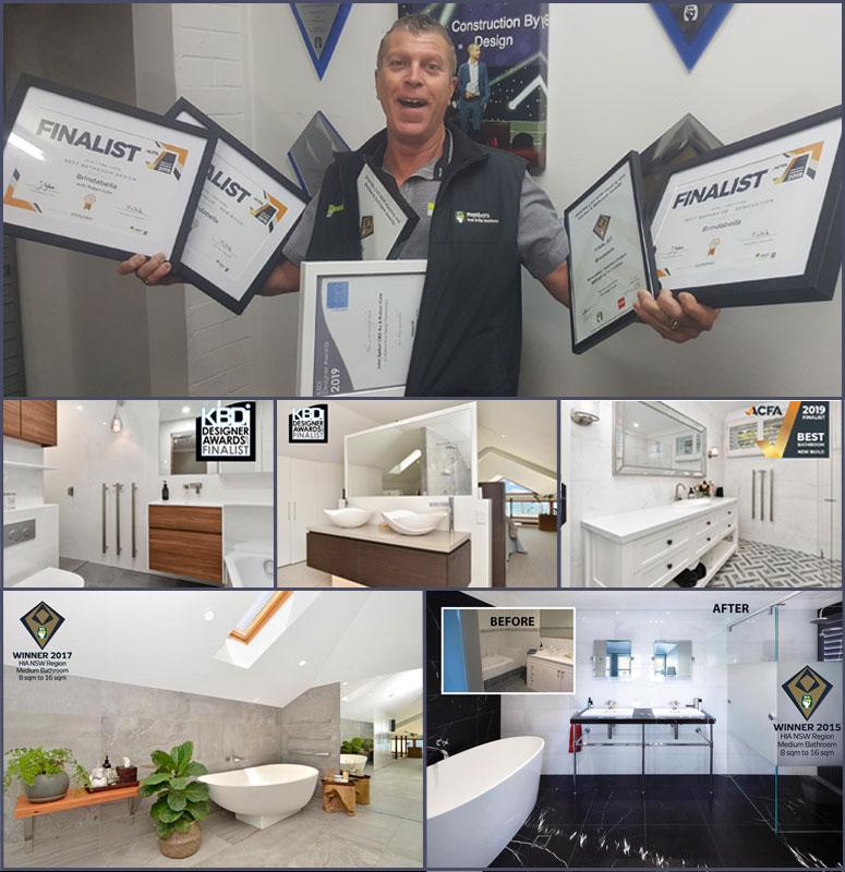 Brindabella - award-winning Glebe bathroom renovations