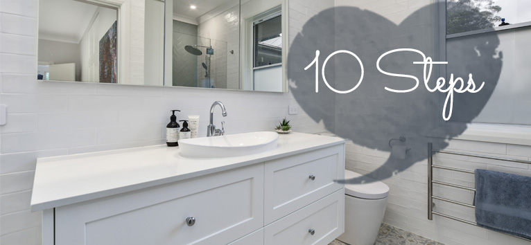 10 easy steps to a successful bathroom renovation