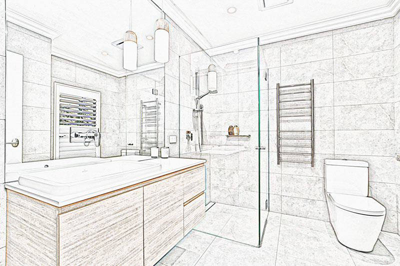 Successful bathroom renovations start with a great design