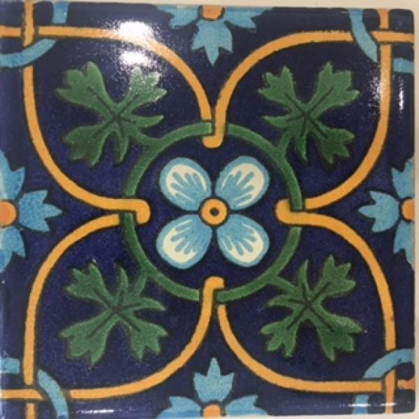 Contessa hand-painted bathroom tiles