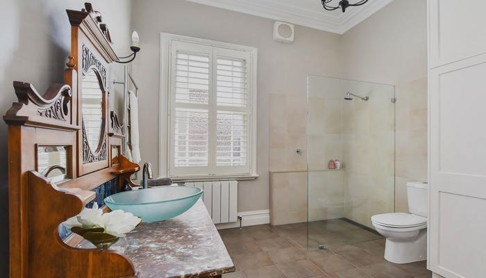 Bathless bathroom renovations