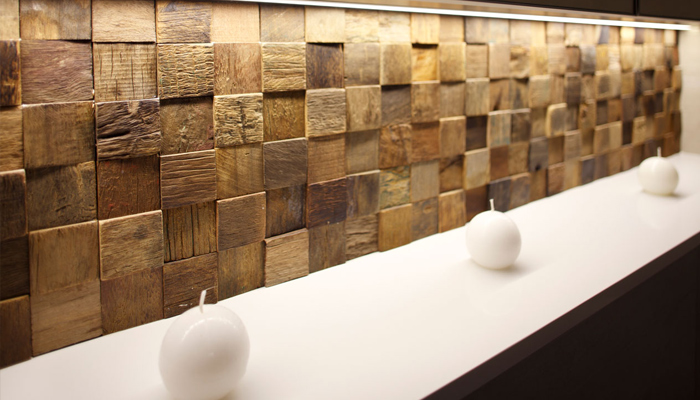 Creative wall transformations can work with or without bathtubs