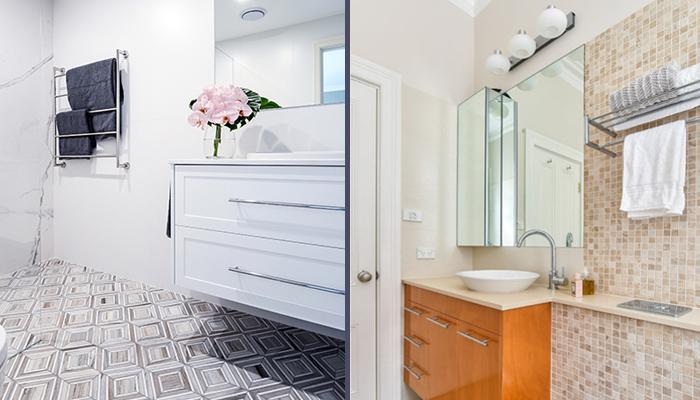 Bathroom wall-mounted items